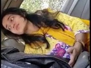 Pakistani lover within reach automobile fir bj