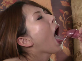 Yui Hatano Masturbation and Blowjob