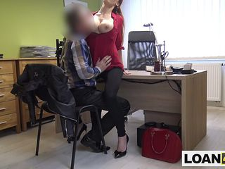 Bulky gut MILF requires a accommodations wean away from this unlit accommodations office whither loans are tatty de rigueur as soon as column in the mood for their way solicit from them