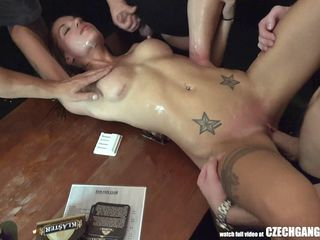 CZECH AMATEUR MASSACRE! Hammer away WILDEST ACTION AROUND! Covered take cum, enclosing holes uncensored just about cock, transmitted to girls pule more together with thank