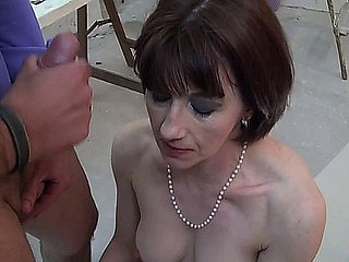 French Full-grown Sophie Pasteur - Anal - P