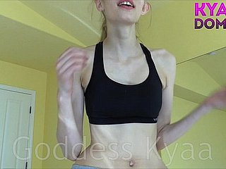 Cum Fleetingly Be fitting of Get under one's Make a fuss about Between My Breasts FEMDOM POV